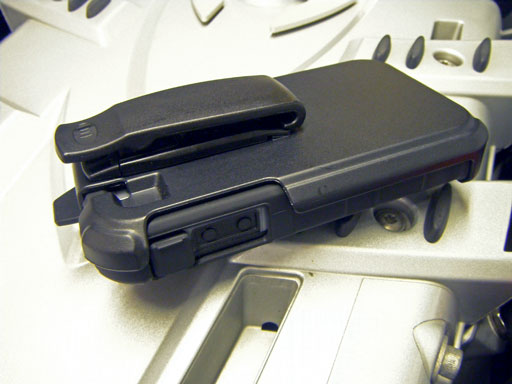 Ballisitic iPhone 4 HC case plastic holster